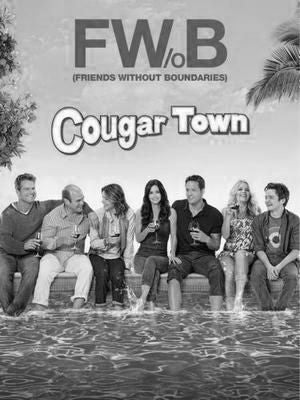Cougartown Poster Black and White Mini Poster 11