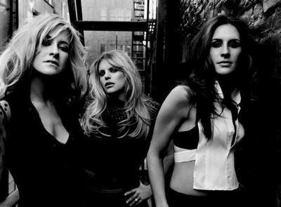 Dixie Chicks The black and white poster