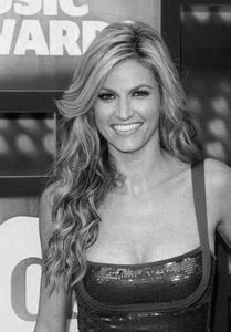 Erin Andrews poster tin sign Wall Art