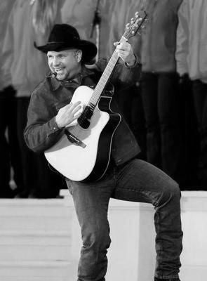 Garth Brooks Poster Black and White Mini Poster 11