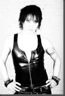 Joan Jett poster tin sign Wall Art
