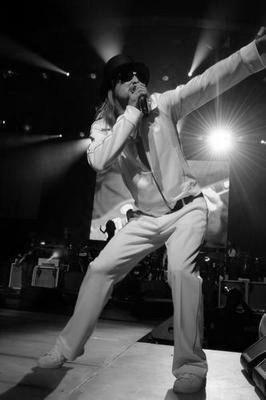 Kid Rock black and white poster