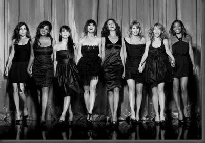 L Word black and white poster