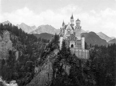 Neuschwanstein Castle poster tin sign Wall Art