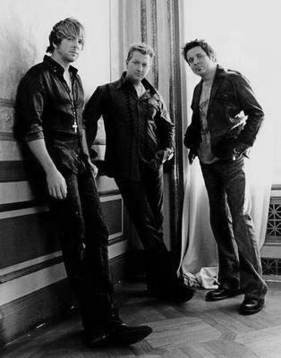 Rascal Flatts black and white poster