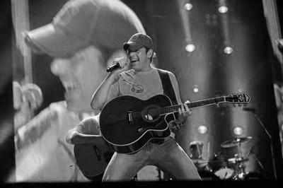 Rodney Atkins black and white poster