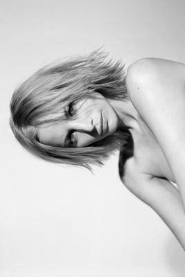 Sienna Guillory black and white poster