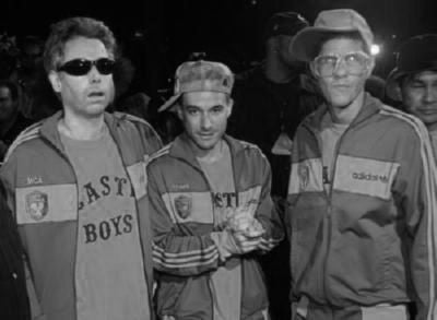 Beastie Boys Poster Black and White Mini Poster 11