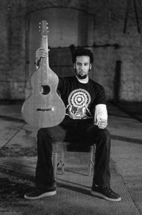 Ben Harper black and white poster
