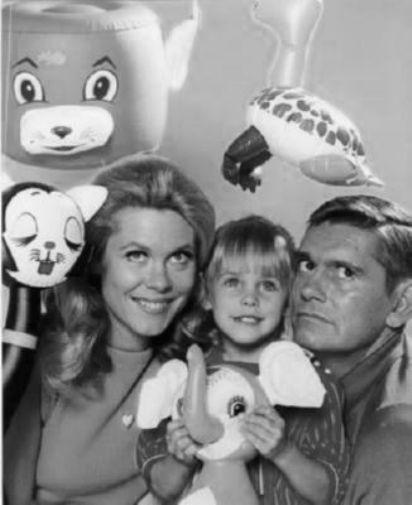 Bewitched black and white poster