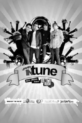 Big Time Rush Poster Black and White Mini Poster 11