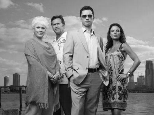 Burn Notice black and white poster