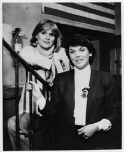 "Cagney And Lacey Poster Black and White Mini Poster 11""x17"""