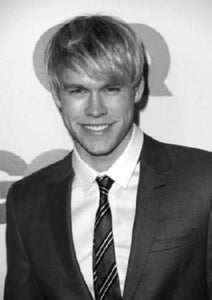 "Chord Overstreet Poster Black and White Mini Poster 11""x17"""