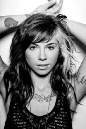 Christina Perri Poster Black and White Mini Poster 11