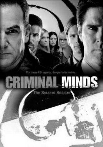 Criminal Minds black and white poster