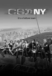 "Csi Ny Poster Black and White Mini Poster 11""x17"""