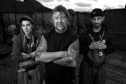 Deadliest Catch Poster Black and White Mini Poster 11