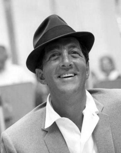 Dean Martin black and white poster