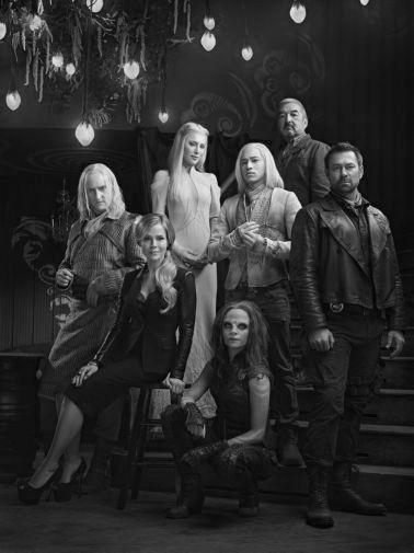 Defiance black and white poster