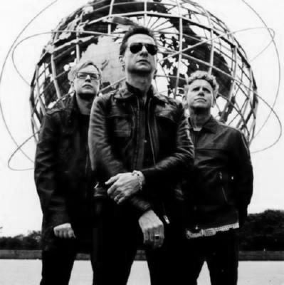 Depeche Mode Poster Black and White Mini Poster 11