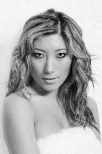Dichen Lachman black and white poster