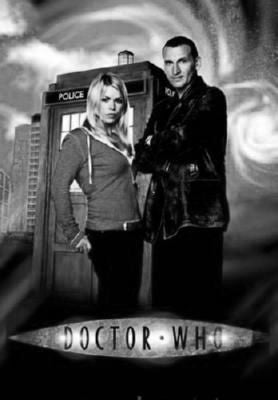 Doctor Who Poster Black and White Mini Poster 11