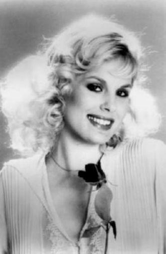 Dorothy Stratten black and white poster