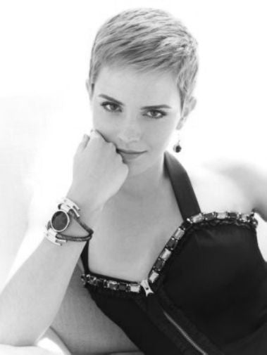 Emma Watson Poster Black and White Mini Poster 11