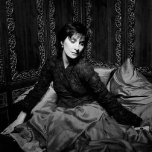 Enya black and white poster