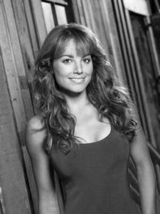 "Erica Durance Poster Black and White Mini Poster 11""x17"""