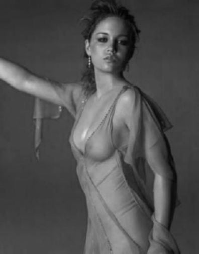 Erika Christensen Poster Black and White Mini Poster 11