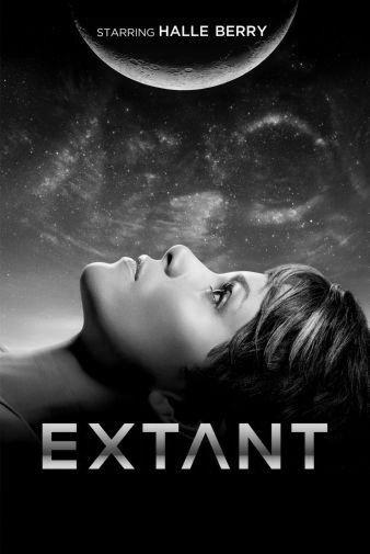 Extant black and white poster
