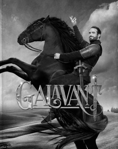 Galavant Poster Black and White Mini Poster 11