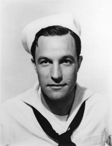 Gene Kelly black and white poster