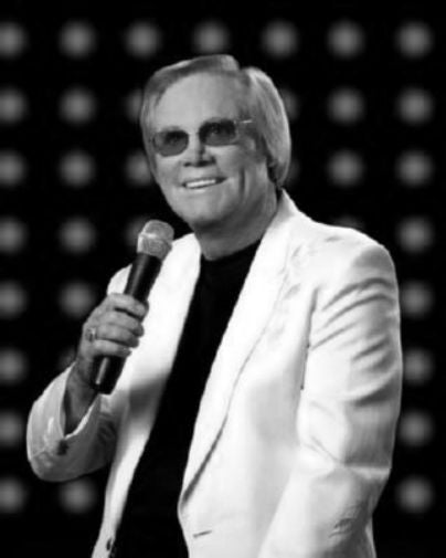 George Jones Poster Black and White Mini Poster 11