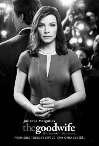 The Good Wife black and white poster
