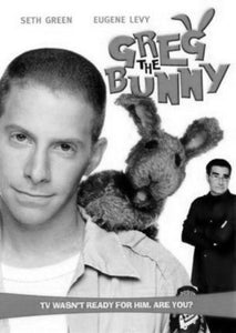Greg The Bunny black and white poster