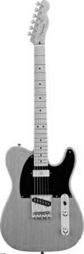 Guitar black and white poster
