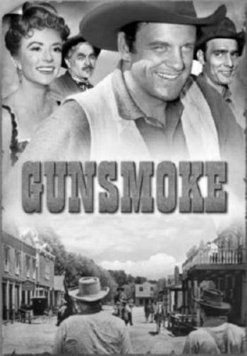 Gunsmoke poster tin sign Wall Art