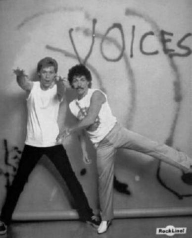 "Hall And Oates Poster Black and White Mini Poster 11""x17"""