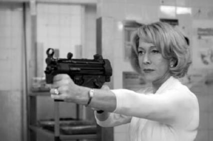 Helen Mirren Poster Black and White Mini Poster 11