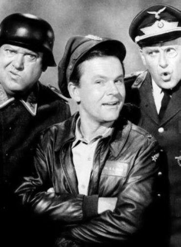 Hogans Heroes black and white poster