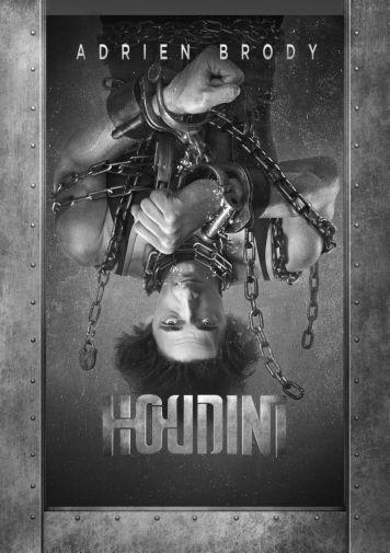 Houdini black and white poster