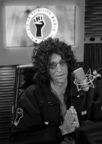 Howard Stern Poster Black and White Mini Poster 11