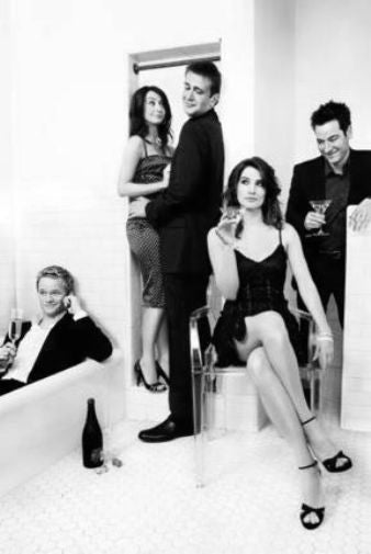 How I Met Your Mother Poster Black and White Mini Poster 11