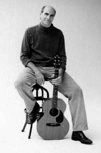 James Taylor black and white poster