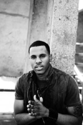 Jason Derulo black and white poster