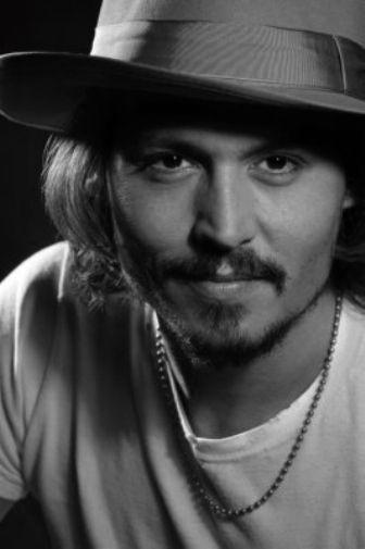 Johnny Depp poster tin sign Wall Art