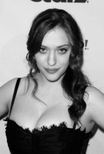 Kat Dennings poster tin sign Wall Art